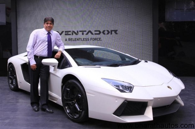 Lamborghini Aventador launched in India at Rs. 3.69 crore
