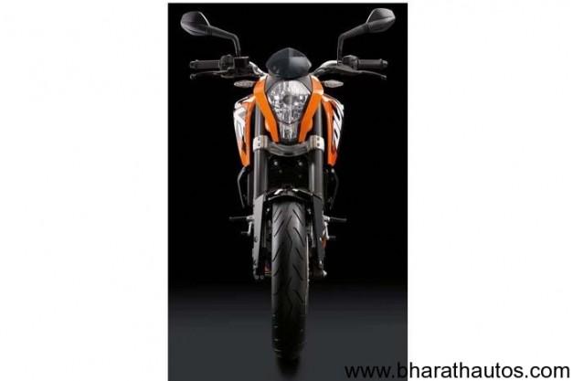 KTM Duke 200 - FrontView