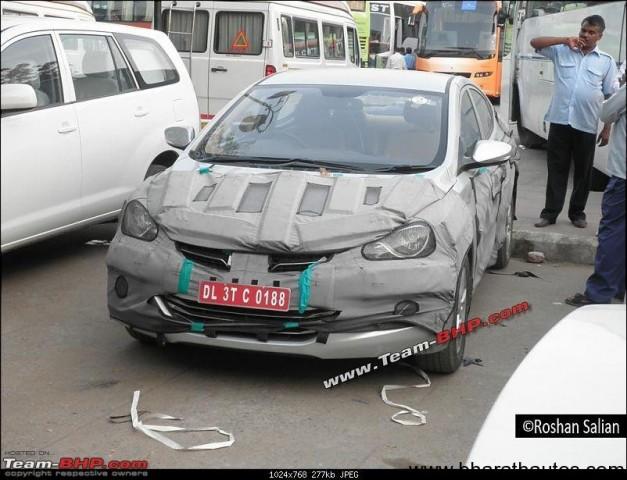 Spied Hyundai Elantra/Avante - FrontView
