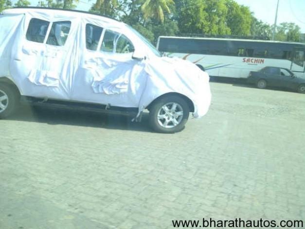 Mahindra mini Xylo spied in Kandivili Mumbai