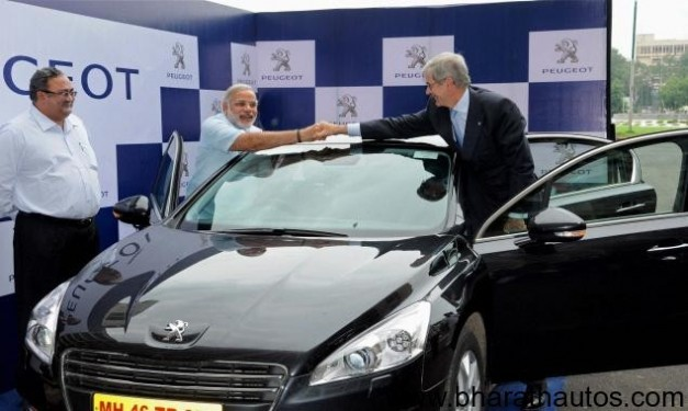 Peugeot performs ground breaking for Sanand automotive plant
