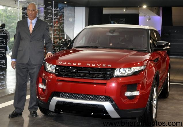 Range Rover Evoque Launched In India At Rs 56 91 Lakhs