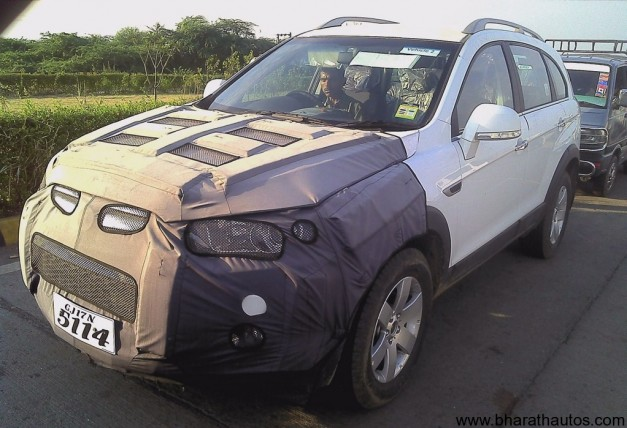 Chevrolet Captiva facelift - FrontView
