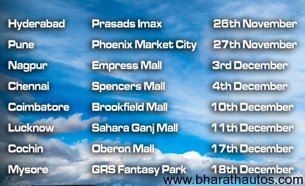 Ghost Ryderz venues and dates