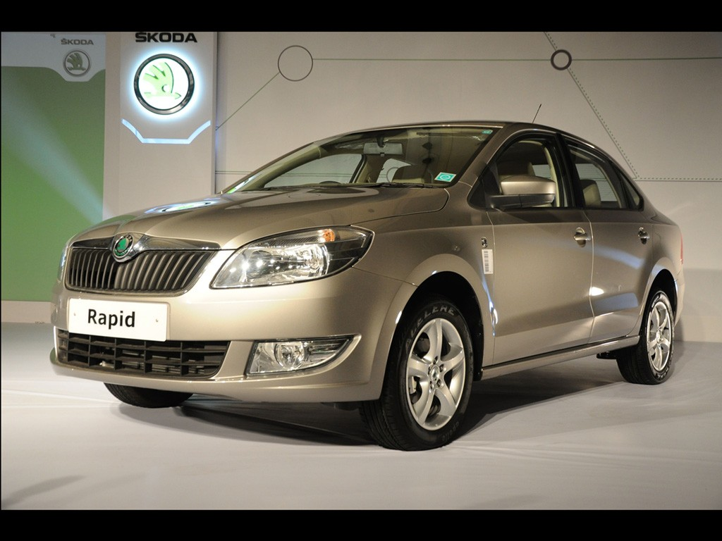 Skoda India Launches The Rapid Sedan At Rs 6 75 Lakhs