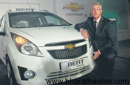 GM India showcases Beat BEV concept car in Bangalore