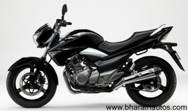 Suzuki Inazuma 250cc - SideView