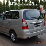 Toyota Innova facelift spied in Goa - 003
