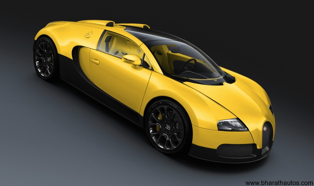 bugatti veyron 3 special-edition grand sport models at dubai motor show