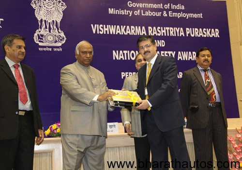 GM India wins National Safety Award