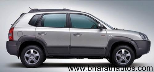 Hyundai Tucson - SideView