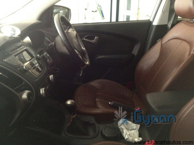 Next generation Hyundai Tucson (ix35) - Interior