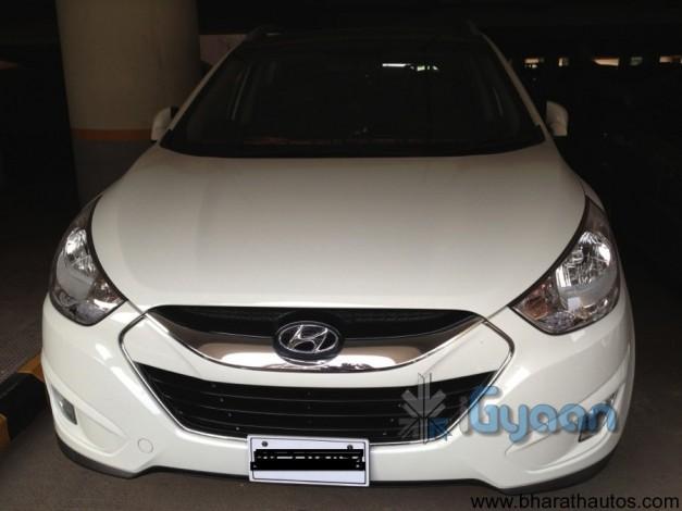 Next generation Hyundai Tucson (ix35) - Front