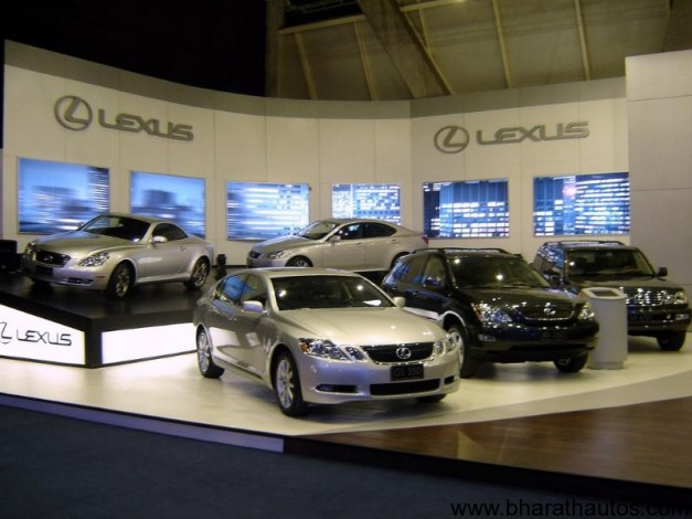 Lexus a year away from India launch