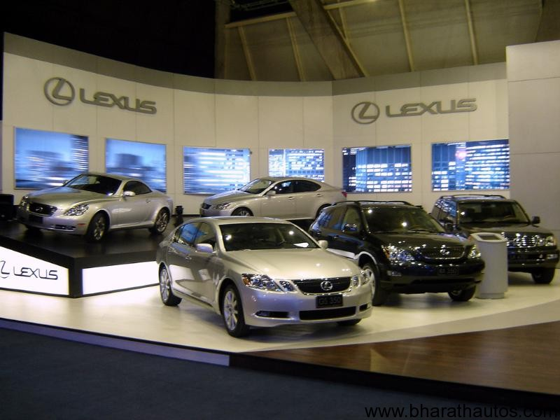 lexus a year away from india launch. Black Bedroom Furniture Sets. Home Design Ideas
