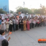 Candlelight march organised for Nirmal - 001