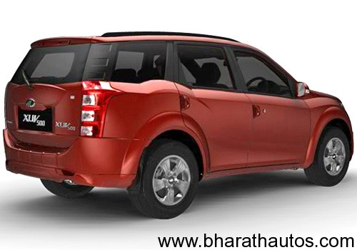 Mahindra Xuv 5oo Rearview Bharathautos Automobile News Updates