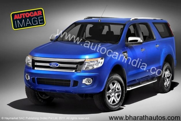 2012 Ford Endeavour - FrontView