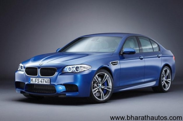 New BMW M5 - FrontView