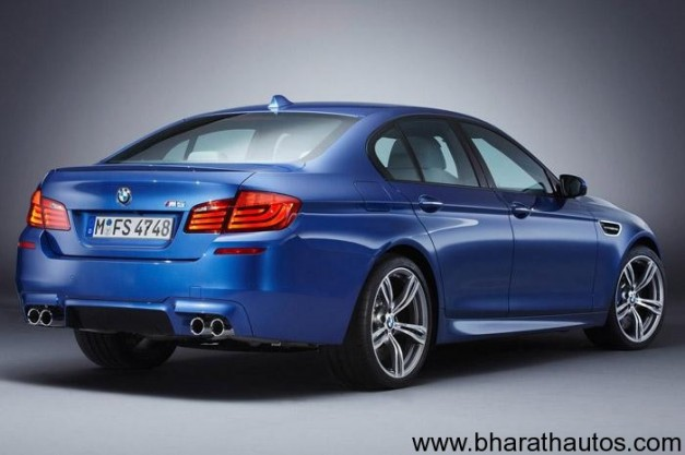 New BMW M5 - RearView