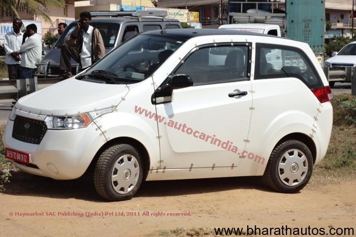 Spied - Mahindra Reva NXR near Mysore!