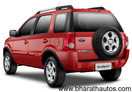 Ford EcoSport SUV - RearView