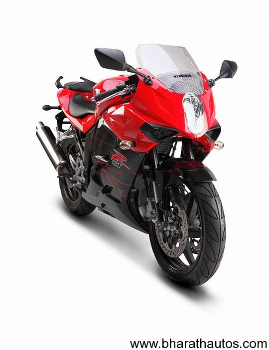 2012 Hyosung GT250R Sportsbike - FrontView