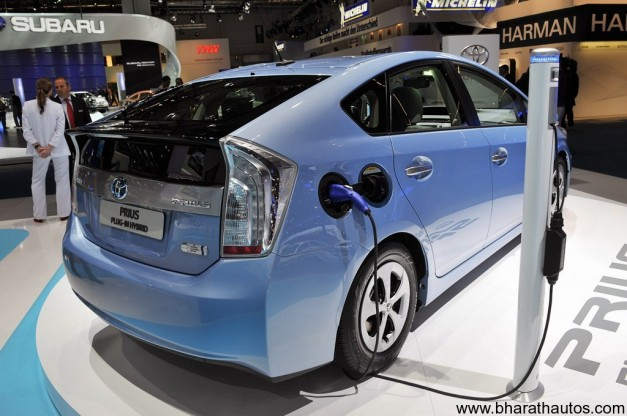 2012 Toyota Prius - RearView
