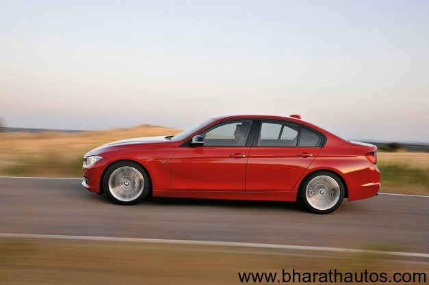 2012 BMW 3 Series - SideView
