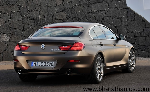 2013 BMW 6 Series Gran Coupe- RearView