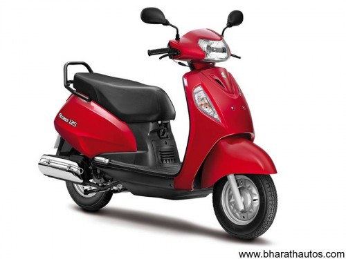 Suzuki Access 125cc - Red