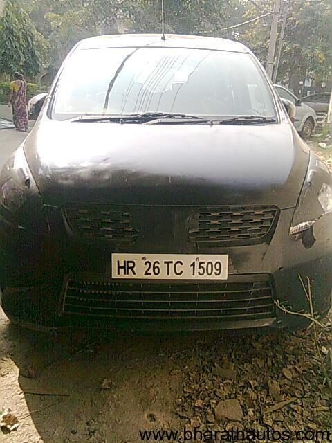 Maruti Ertiga MPV spied - 001