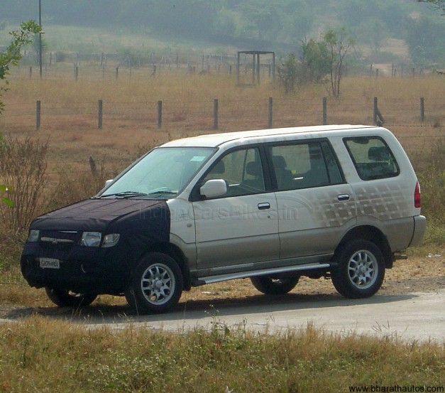 Facelifted Chevrolet Tavera MUV
