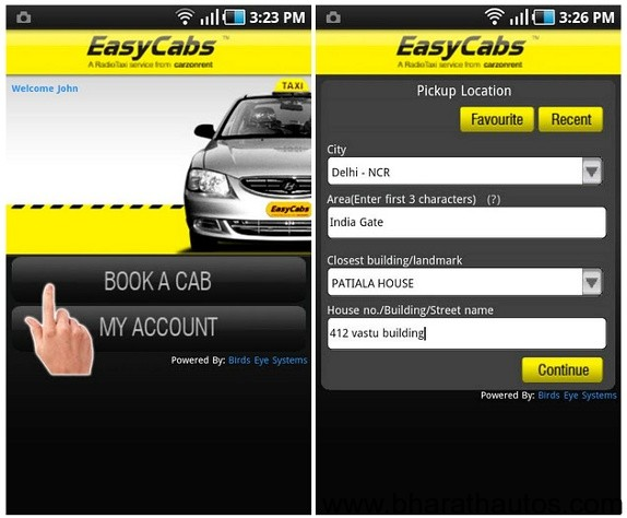 EasyCabs-for-Android