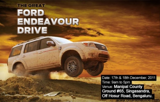 Ford organises the Great Endeavour Drive in Bangalore