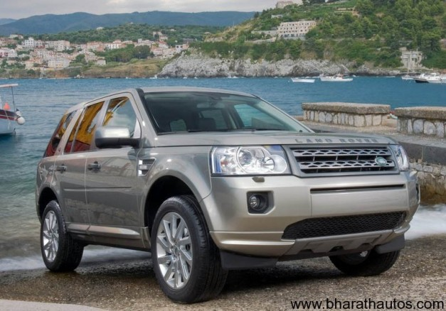 Land Rover Freelander 2 - FrontView