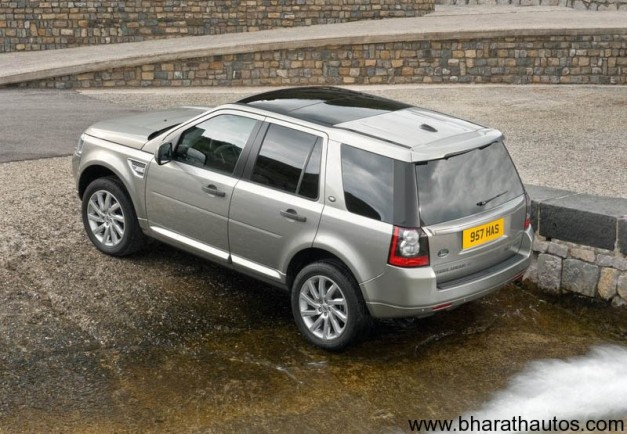 Land Rover Freelander 2 - RearView