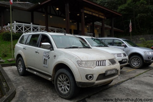 New Pajero sport SUV - FrontView