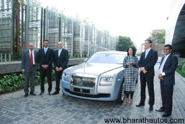 Rolls-Royce opens showroom in Hyderabad