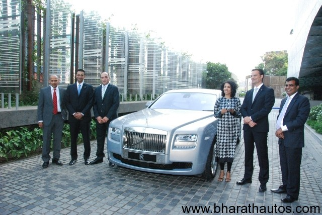 Rolls Royce Opens Showroom In Hyderabad