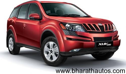 Mahindra XUV 5OO - FrontView