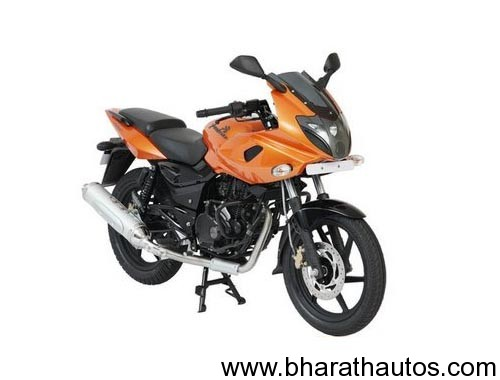 Bajaj Pulsar Flagship model 220F - FrontView