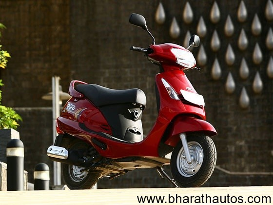 Mahindra Duro Dx 125 - FrontView