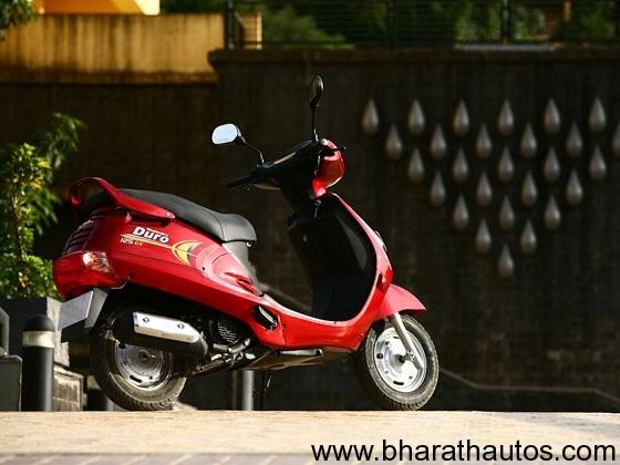 Mahindra Duro Dx 125 - RearView