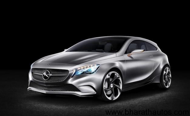 Mercedes-Benz A-class concept - FrontView