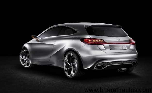 Mercedes-Benz A-class concept - RearView
