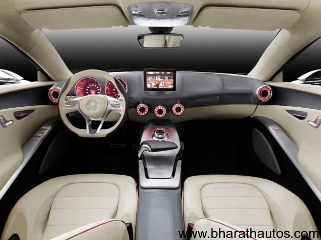 Mercedes-Benz A-class concept - InteriorView