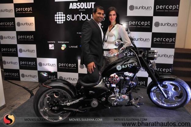 Neha Dhupia unveils the first look of 'Sunburn Chopper' - 001