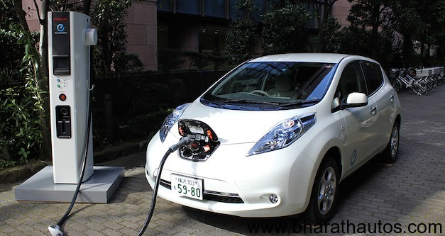 Nissan India To Showcase Fully Electric Leaf Ev At 2012 Delhi Auto Expo