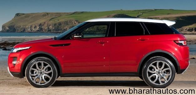 Range Rover Evoque - SideView